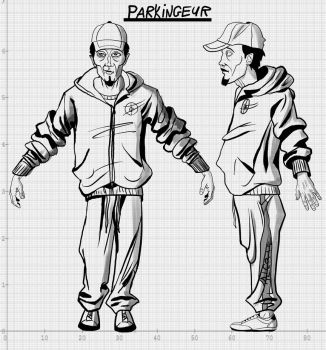 Charcter Designe Yung Man by ismahope