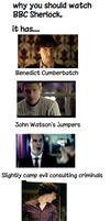 Why you should watch BBC Sherlock by jamdoughnutmagician