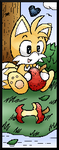 Miiverse Art: Chao Tails by DragonQuestHero