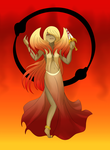 Goddess of The All Consuming Fire by TheAnimatedReviewer