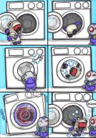 washing machine by prisonsuit-rabbitman