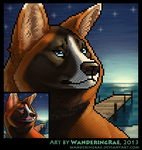 2013: Vinegar Portrait by kickingrabbit