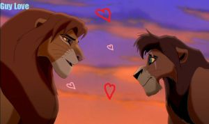Kovu x Simba by Wildsoul-star