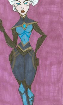 Camille from League of Legends by TheAcrylicKnight