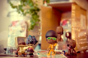 Welcome Sackboys 4 by floriske