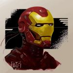 Iron man by inkfloyd
