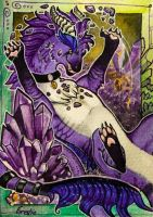 ACEO for Kyuubreon by Forestia