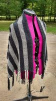 Stripes and Shadows Shawl  -  Complete by greenscarabstudio