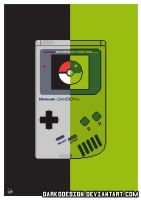 Pokemon Gameboy Wall Art by DarkoDesign