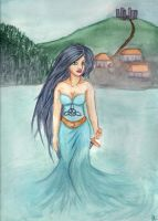 Lady of the lake by Eimiel