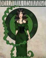 Art Nouveau Bellatrix by Arileli