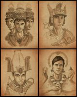 Obol Portraits by mscorley