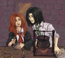 Lily Evans - Potions? HBPspoil by aecr
