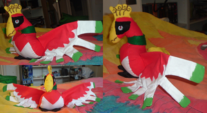Ho-oh Plushie by Ho-ohLover
