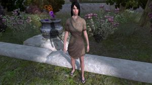 Rough-stiched tunic by tulx