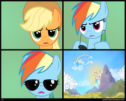 CSI: Ponyville Template by FamelessFace