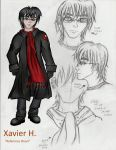 Xavier (Ref Sheet) by Cannabis-Corpsey