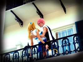 Natsu and Lucy Cosplay 3 by Hikari-Cosplay
