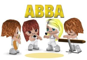 Buddypoke ABBA by deniseyoung