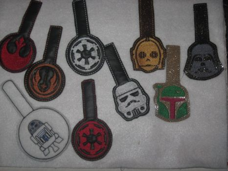 StarWars Key Fobs by WillowForrestall