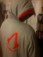 Modern Assassin Hoodie 4 Sale by hellcattheassassin