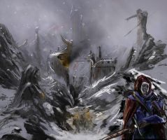 in the dead of winter (stage 3) by AdrianNagorski