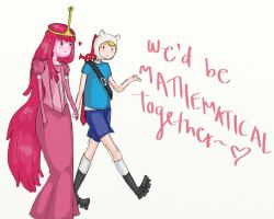 Finn x Bubblegum: Mathematical by Itaweasel-hime