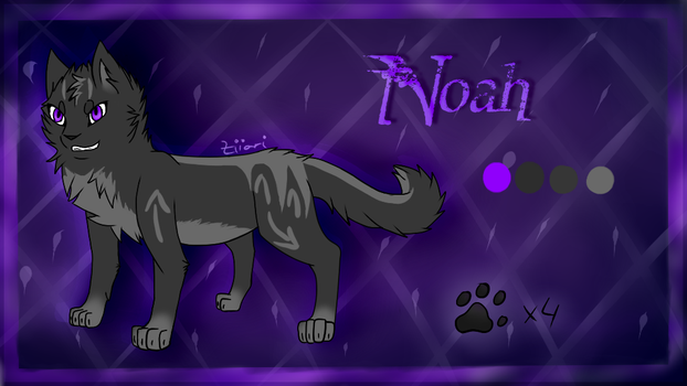 Noah Ref Sheet by Ziiari