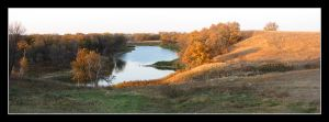2957 Souris River panorama by CitizenOlek