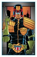 Judge Dredd by calslayton