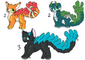 RARE Coral Cat auction lot ~OPEN~ by Sarabikitty