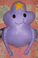 My Lumpy Space Princess Pillow Plushie by CatsFeltLings
