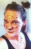 Leopard Face by Chelousy284