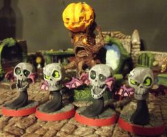 Super Dungeon Explore: Skull Bats + Pumpkin Patch by JordanGreywolf