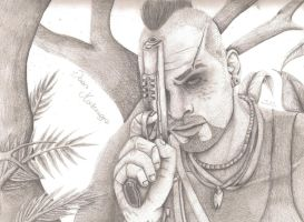 Far Cry 3: Vaas Montenegro by JoyceMonster