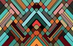 Abstract mosaic 3 by e-designer