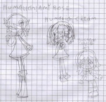 2 Humobian Girls And 1 Huchao by 4br1l