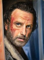 The Walking dead (Rick Grimes) by Windtalkerss