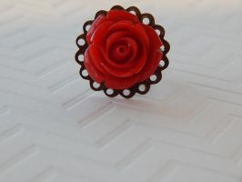 red rose ring by faranway