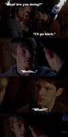 Please don't leave me - Merthur by FreakyFangirl97
