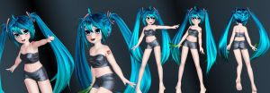A Wild Miku Appears! by Primantis