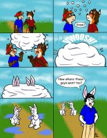 Firewolf66 bunny TF comic by CaseyLJones