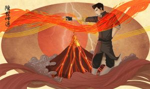 The Firebending Master by Boogol