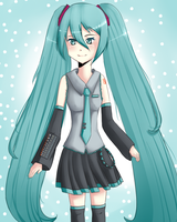 Miku Hatsune by China-Girl-Doll