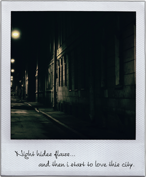 Night hides flaws by vokl