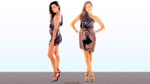 Cote De Pablo Double the Ziva by Dave-Daring