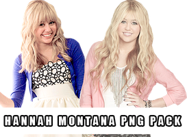 Hannah Montana PNG Pack by bellsberry