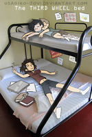 SPN: The Third Wheel Bed by Usagiko-JOvi