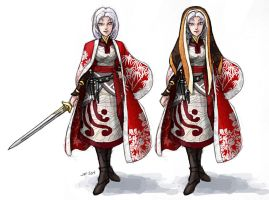 Second Six: Peri costumes by AriochIV