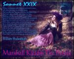 Pirate Marshal Kandice Sonnet 29 Shakespeare by BlackUniGryphon